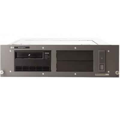 Hewlett packard enterprise tape autoader: HP StoreEver LTO-4 Ultrium 1840 SCSI (1) in 3U Rack-mount Kit