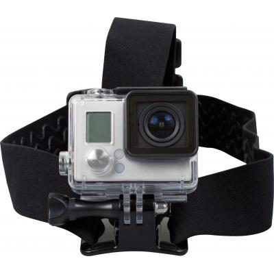 Rollei houder: Headstrap for GoPro - Zwart