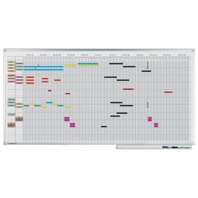 Legamaster kalander: Planbord Lega 75x150 Pro 50pers jaar