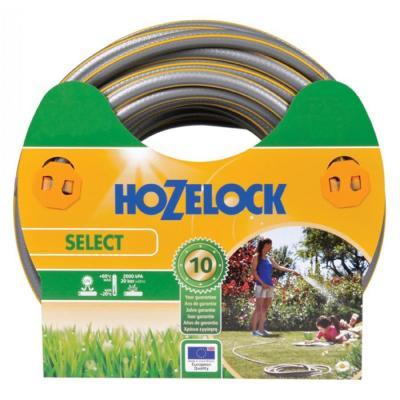 Hozelock tuinslang: tuinslang Select Ø 15 mm 50 meter - Grijs, Geel