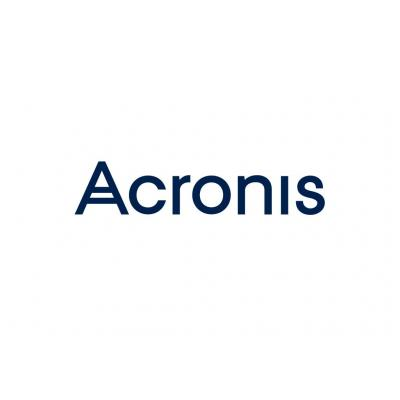 Acronis ACR BACKUP CLOUD - WEBSITE Software licentie