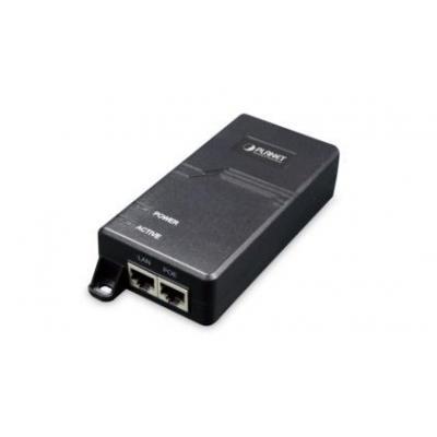 ASSMANN Electronic 60W Ultra Power over Ethernet Injector PoE adapter - Zwart