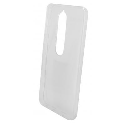 Mobiparts Classic TPU Case Nokia 6 (2018) Transparent Mobile phone case - Transparant