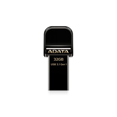 ADATA AI920 32GB USB flash drive - Zwart