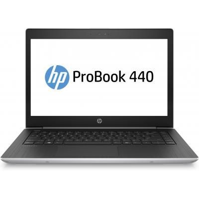 Hp laptop: ProBook 440 G5 14'' i3 128GB - Zwart, Zilver