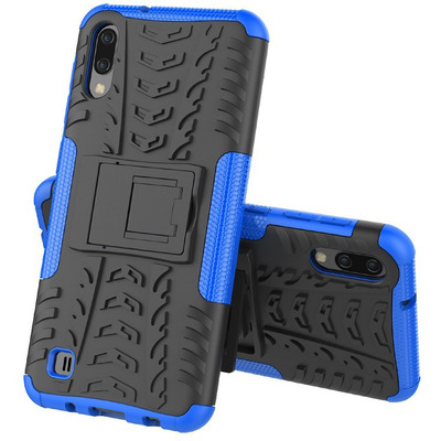 CoreParts MOBX-COVER-A10/M10-BLU Mobile phone case - Blauw