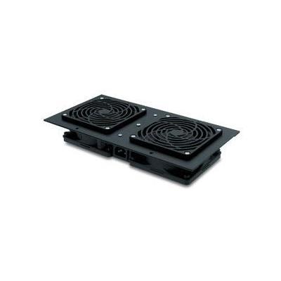 Apc Hardware koeling: Roof Fan Tray 208/230V, 50/60HZ for NetShelter WX Enclosures - Zwart