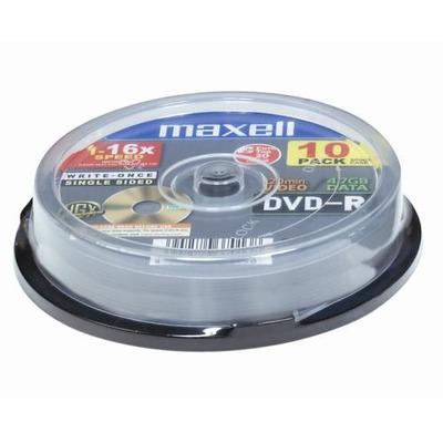 Maxell DVD-R 4,7GB 16X 10-Pack DVD