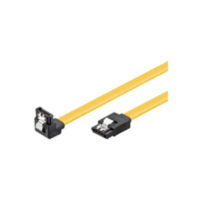 Microconnect ATA kabel: SATA - SATA III, 0.5 m - Geel