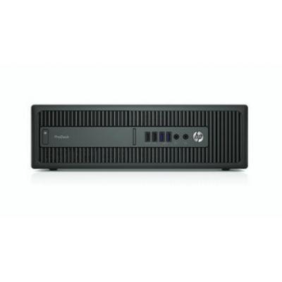 Hp pc: ProDesk 600 G2 SFF - Intel Core i3 - 500GB HDD - Zwart