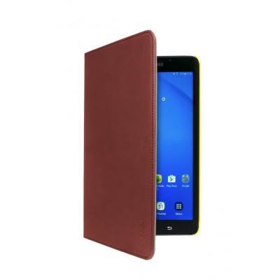 Gecko Easy-click protection cover fits the Samsung Galaxy Tab A 10.1, Brown/Yellow Tablet case - Bruin, Geel