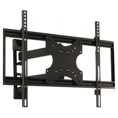 "Valueline montagehaak: TV wall mount full motion 42 - 65"", 50 kg - Zwart"