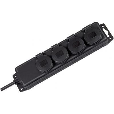 Brennenstuhl surge protector: BN-1159960 - Zwart