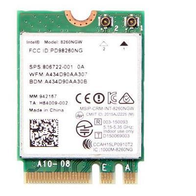 Hp notebook reserve-onderdeel: WLAN 802.11 ac Network Card - Groen