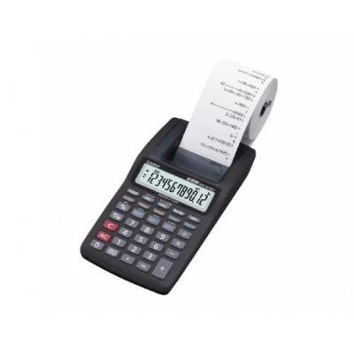 Casio calculator: HR-8TEC - Zwart