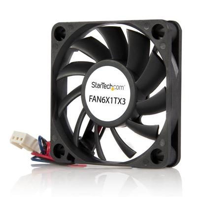 StarTech.com 60x10mm Ventilator voor Computerbehuizing met Kogellagers en TX3 Connector Hardware koeling - .....