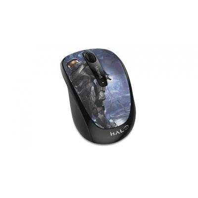 Microsoft computermuis: Wireless Mobile Mouse 3500 Halo Limited Edition: The Master Chief - Multi kleuren