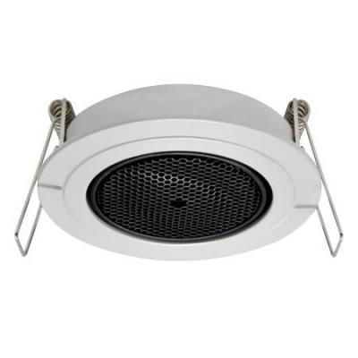 Acti beveiligingscamera bevestiging & behuizing: Tiltable Flush Mount for Pinhole Covert Cameras - Zwart, Wit