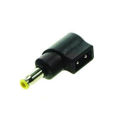 2-power laptop accessoire: Universal Tip, Black/Yellow - Zwart, Geel