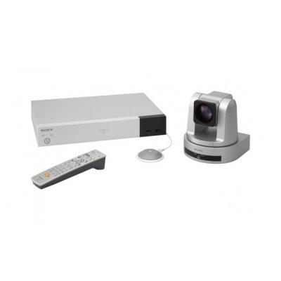 "Sony videoconferentie systeem: 1/2.8 ""Exmor"" CMOS, 2.1 MP, 1920 x 1080, 29.97 fps, HDMI, RS-232C, DVI-I, USB, RJ-45"
