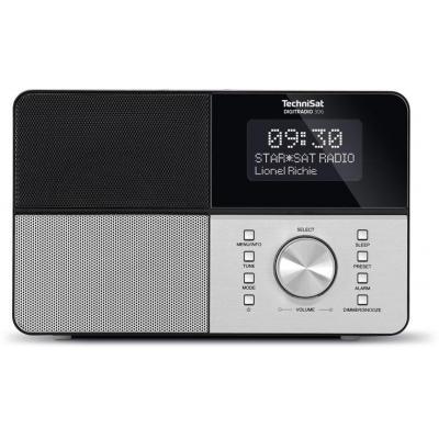 Technisat radio: DigitRadio 306 - Zwart, Zilver