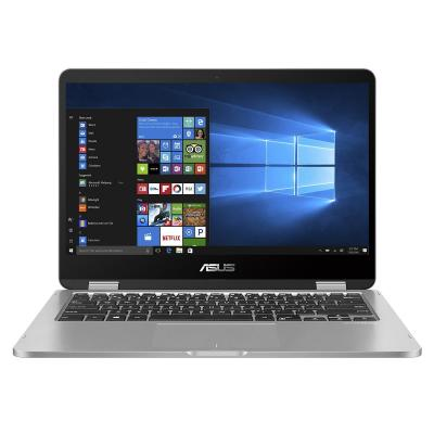 "ASUS VivoBook Flip TP401NA-EC030T 14"" Celeron 4GB RAM 64GB eMMC Laptop - Grijs"