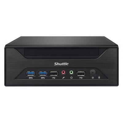 Shuttle barebone: Barebone Black: H81/S1150/max 2x 8GB .....