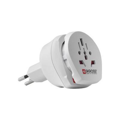 Skross stekker-adapter: SKR1500206 - Wit
