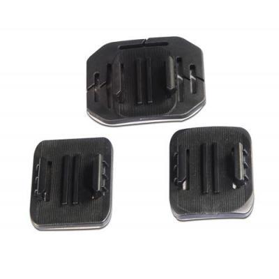 Kitvision camera-ophangaccessoire: General Adhesive Mount Set for EDGE HD30W Action Camera - Zwart