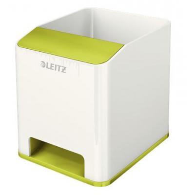 Leitz houder: WOW Sound Pen Holder - Groen, Wit
