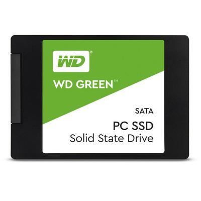 Western digital SSD: Green - Zwart, Groen