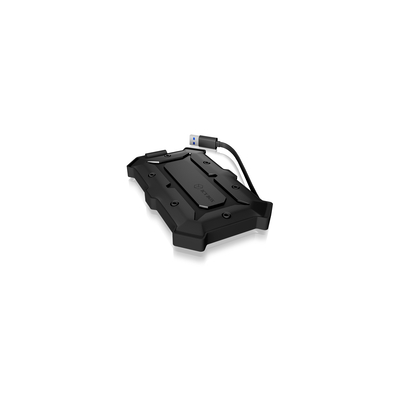 ICY BOX IB-276U3 Behuizing - Zwart