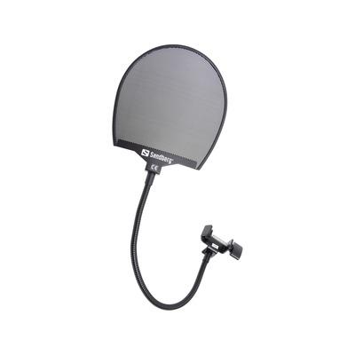 Sandberg Popfilter for Microphone Microfoon accessoire - Zwart
