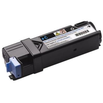 Dell toner: Cyaan tonercartridge met hoge capaciteit voor de Kleur Printer 2150cn/cdn/2155cn/cdn