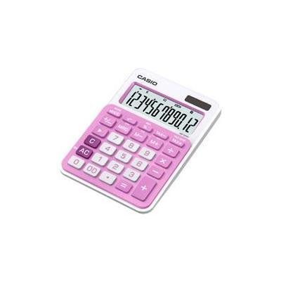 Casio calculator: MS-20NC - Roze