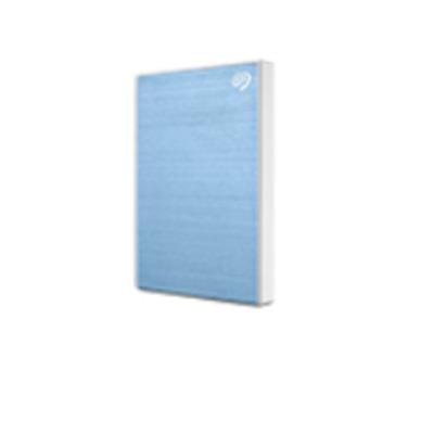 Seagate Backup Plus 2 TB, USB 3.0, USB 2.0, Light Blue Externe harde schijf - Blauw