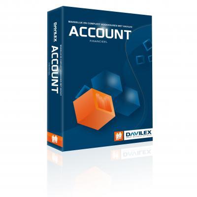 Davilex boekhoudpakket: Account