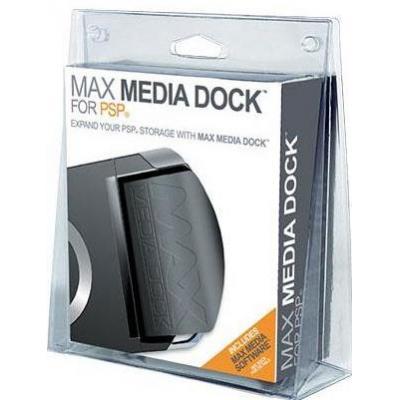 Datel spel accessoire: Max Media Dock, PSP - Zwart
