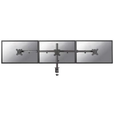 Newstar monitorarm: flatscreen bureausteun - Zwart