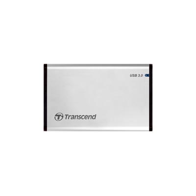 Transcend StoreJet 25S3 Behuizing - Zilver