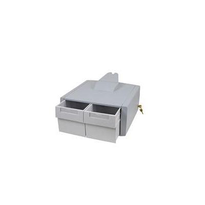 Ergotron multimedia accessoire: SV Primary Storage Drawer, Double Tall - Grijs