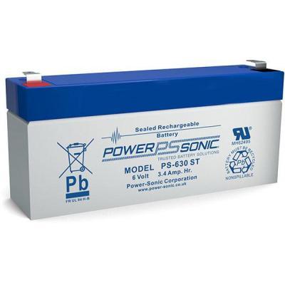 Power-Sonic PS-630ST UPS batterij - Blauw, Grijs