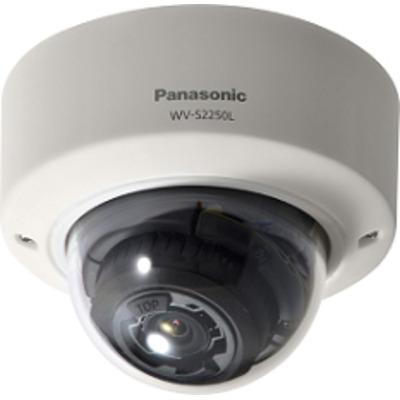 Panasonic 1/2.8 CMOS, 5MP, 30 fps, f=2.9-9mm, F1.3, PoE, 12V DC Beveiligingscamera - Zwart,Wit