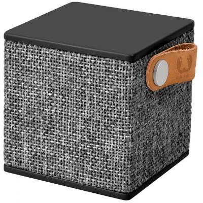 Fresh 'n rebel draagbare luidspreker: Rockbox Cube Fabriq Edition - Concrete - Zwart, Grijs