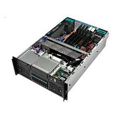 Intel Server System SFC4URX Server barebone - Metallic