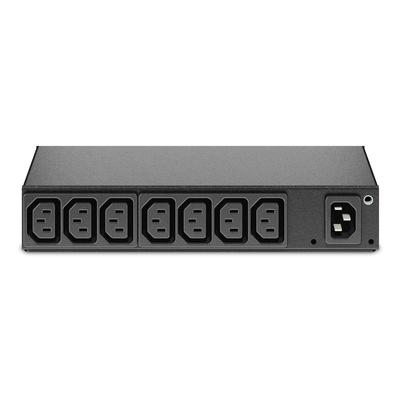 Apc energiedistributie: Rack PDU, Basic, 0U/1U, 10A, 230V, (8x) C13 - Zwart