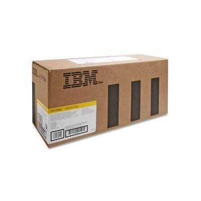 InfoPrint Cartridge for IBM Color 1834/1854/1846MFP/1856MFP/1866MFP, Return program, Yellow, 6000 Pages Toner .....