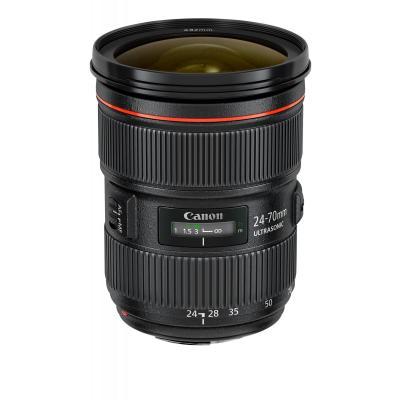 Canon camera lens: EF 24-70mm f/2.8L II USM - Zwart