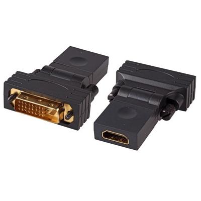 EFB Elektronik EB487 Kabel adapter - Zwart