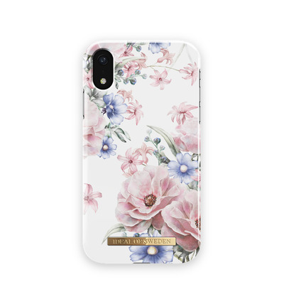 IDeal of Sweden for Apple iPhone XR, Floral Romance Mobile phone case - Blauw,Roze,Wit